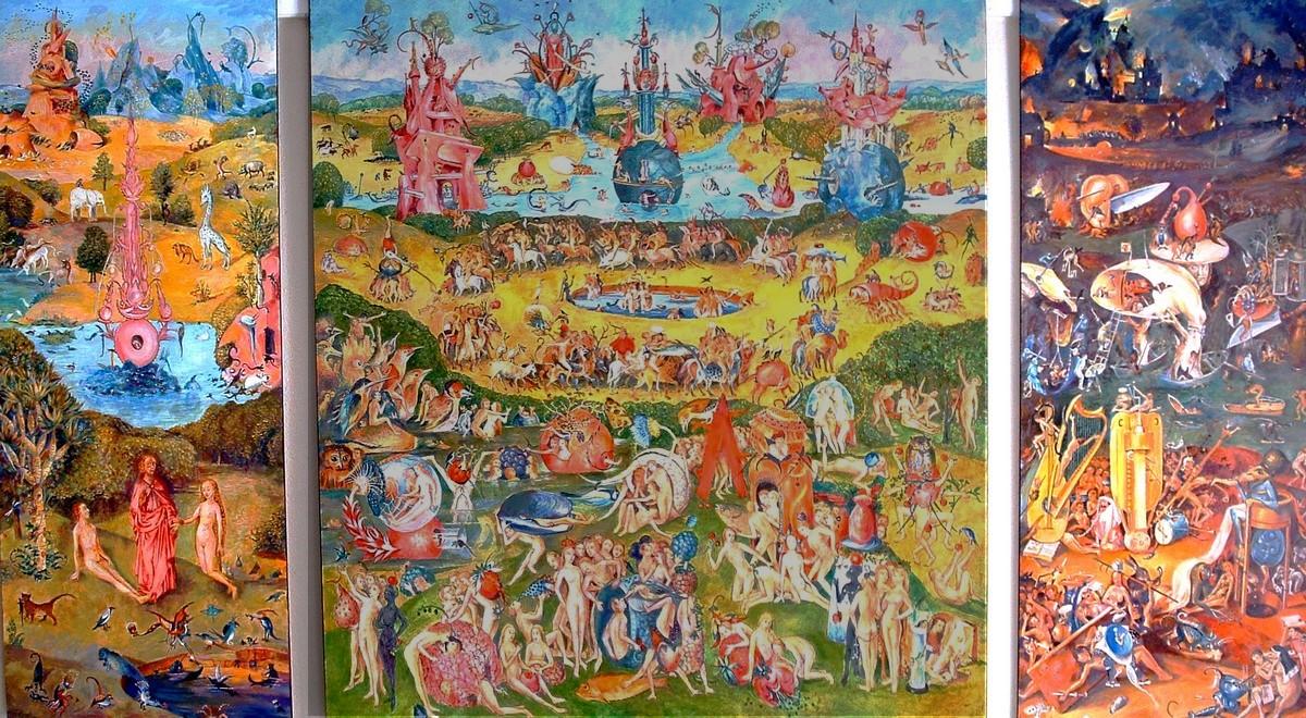 Illustrations alexis guy korovine for Jardin des delices j bosch